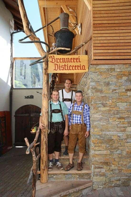 Brennerei Südtirol Spitalerhof - Schaubrennerei Club Winery