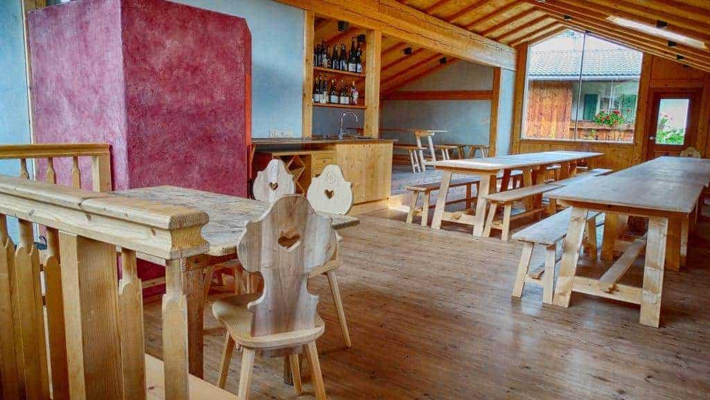 Den Bio-Hof Radoar können Sie für Events mieten - Club Winery
