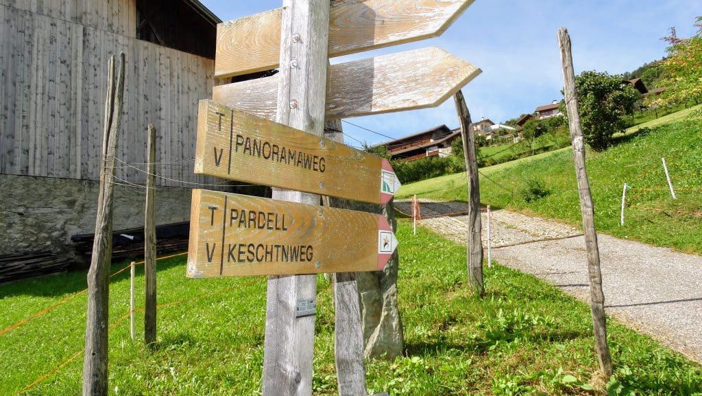 Der Radoarhof liegt direkt am Keschtnweg - Club Winery