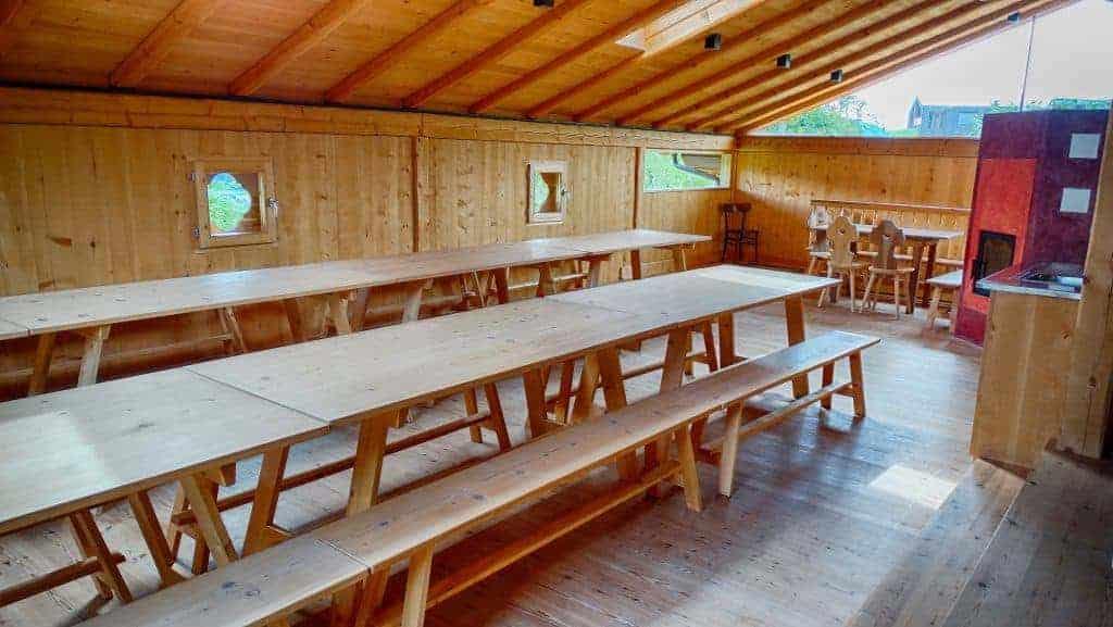 Die Räume vom Buschenschank Radoar in Südtirol - Club Winery