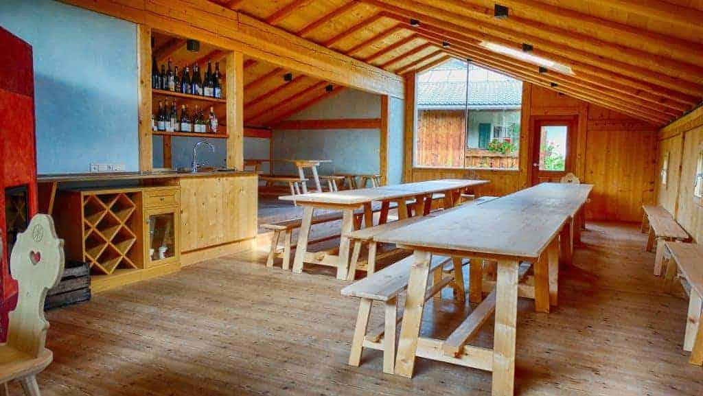 Die Räumlichkeiten vom Weingut Radoar können gemietet werden - Club Winery