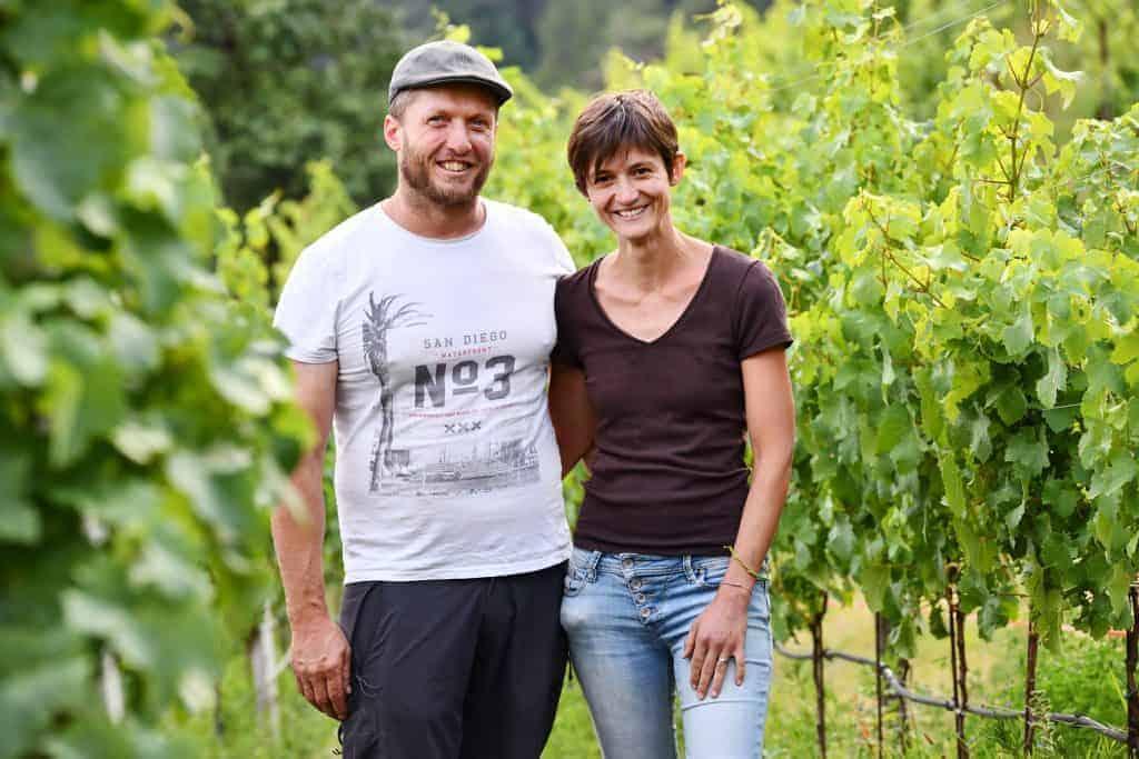 Evi und Matthias Rielinger vom Weingut Rielinger Südtirol - Club Winery