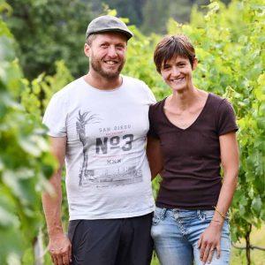 Die Winzer Evi und Matthias Rielinger vom Weingut Rielingerhof in Südtirol - Club Winery
