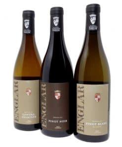 Rebstockpatenschaft mit Club Winery - Weinflaschen Schloss Englar