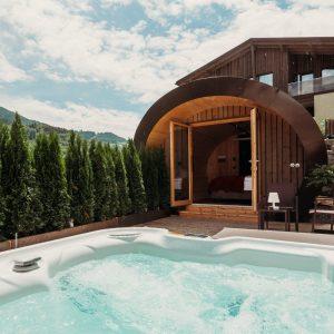 Schlafen im Weinfass in Südtirol