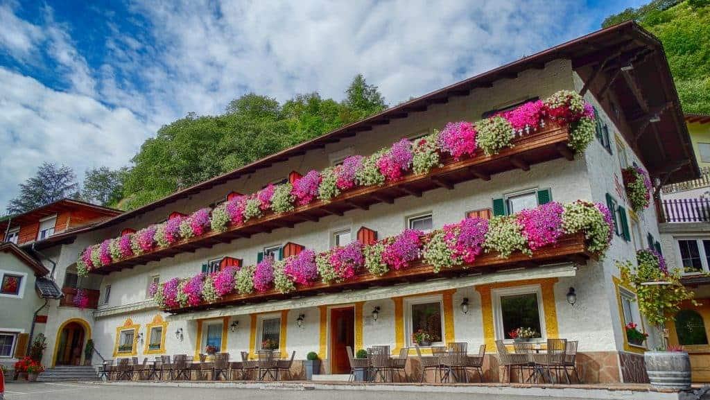 Weinhotel, Schaubrennerei Spitalerhof Klausen - Südtirol